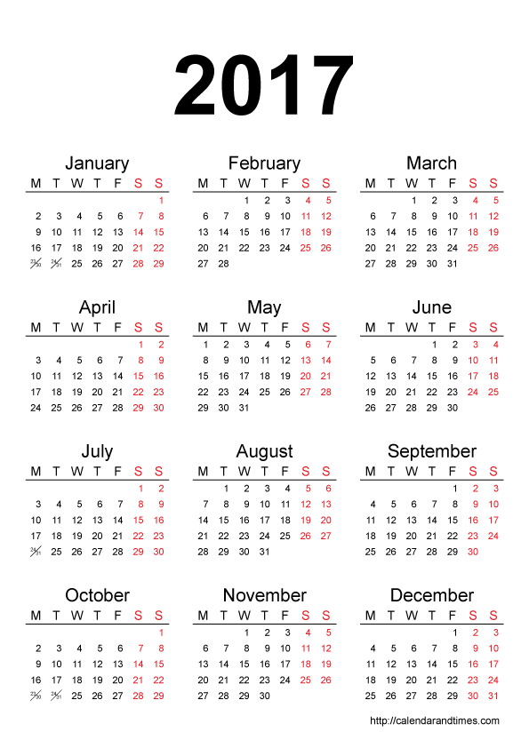 Calendars Archives Blank Calendar Design 2017 Png 3681