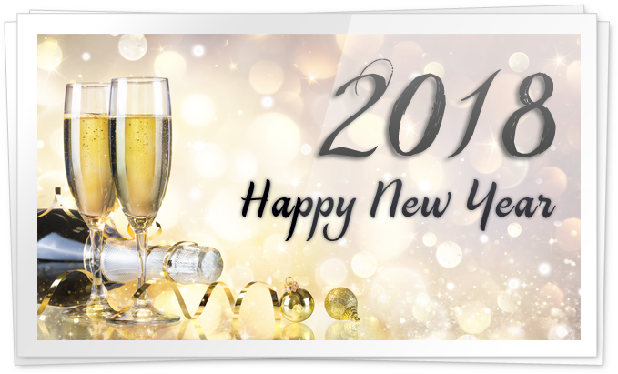 2018 Happy New Year Transparent Png Image 6364