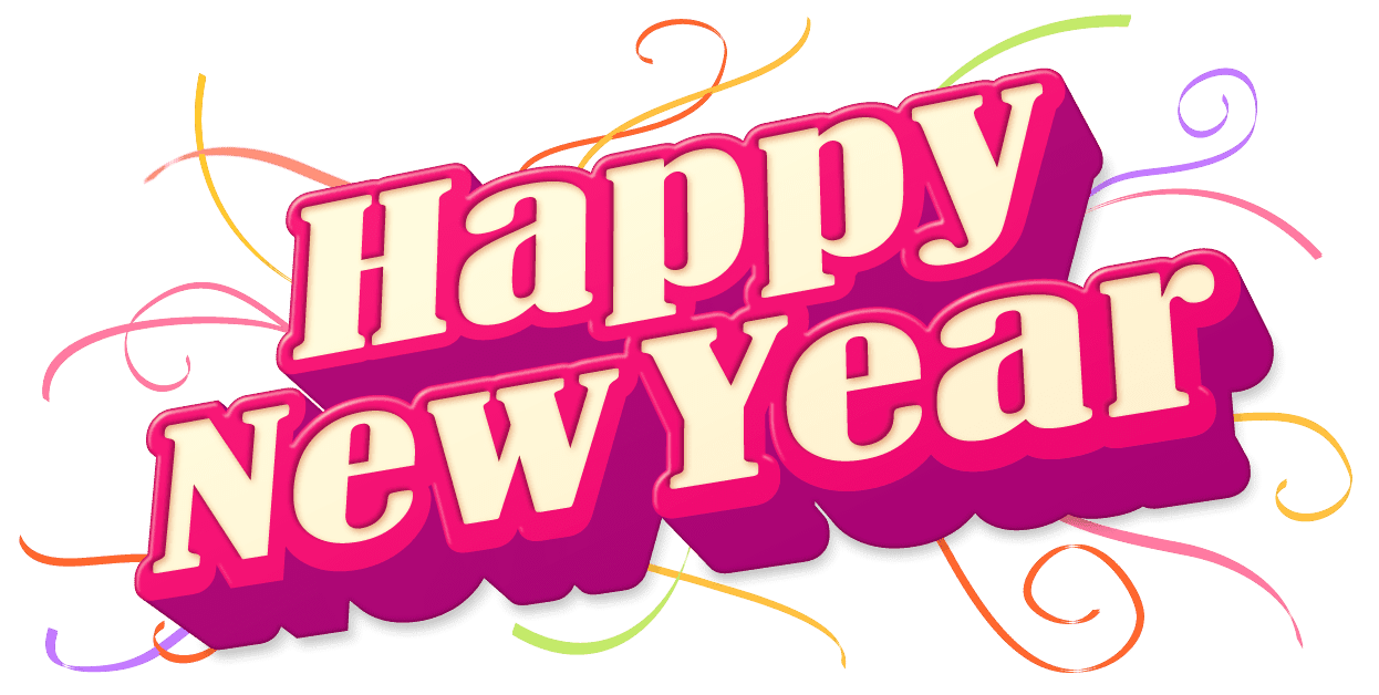 Happy New Year 2018 Celebration Png 6359
