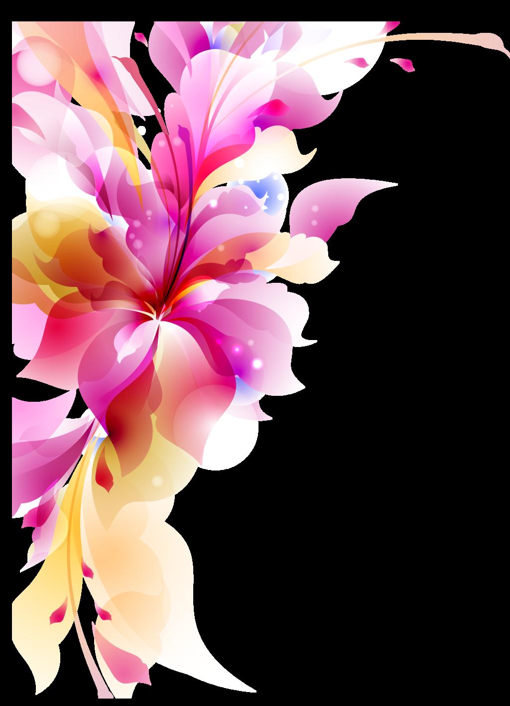 Abstract Flower Transparent 16421 Transparentpng