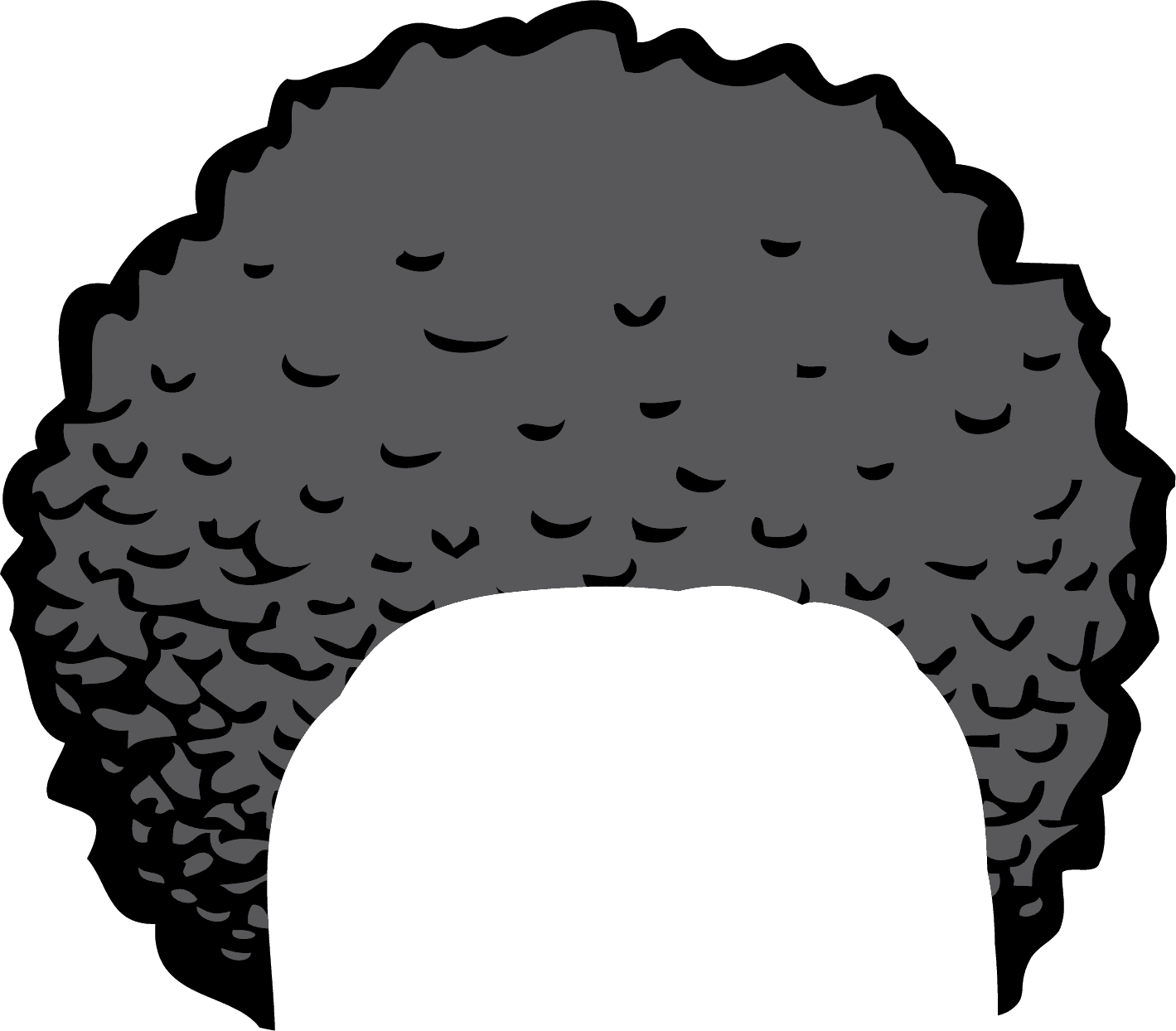afro clipart pic 2292 transparentpng rh transparentpng com afro clip on hair piece afro clip on hair piece