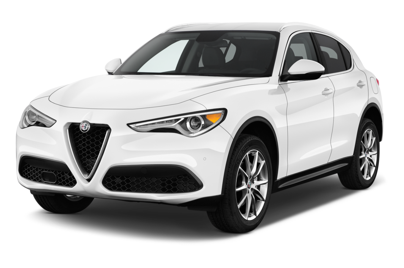 Alfa Romeo Stelvio White Suv Car Transparent 26752