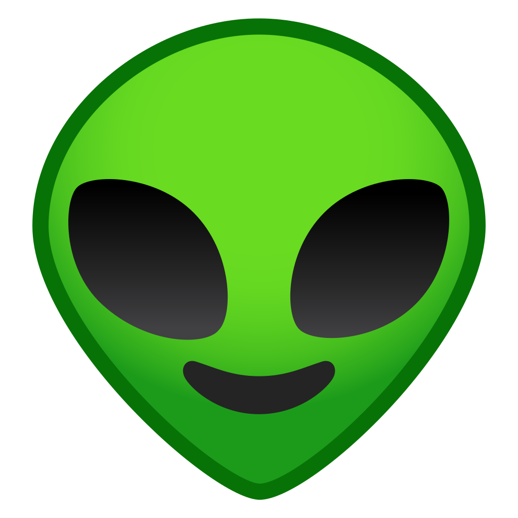 Smiley Green Alien Emoji Transparent Png 26809