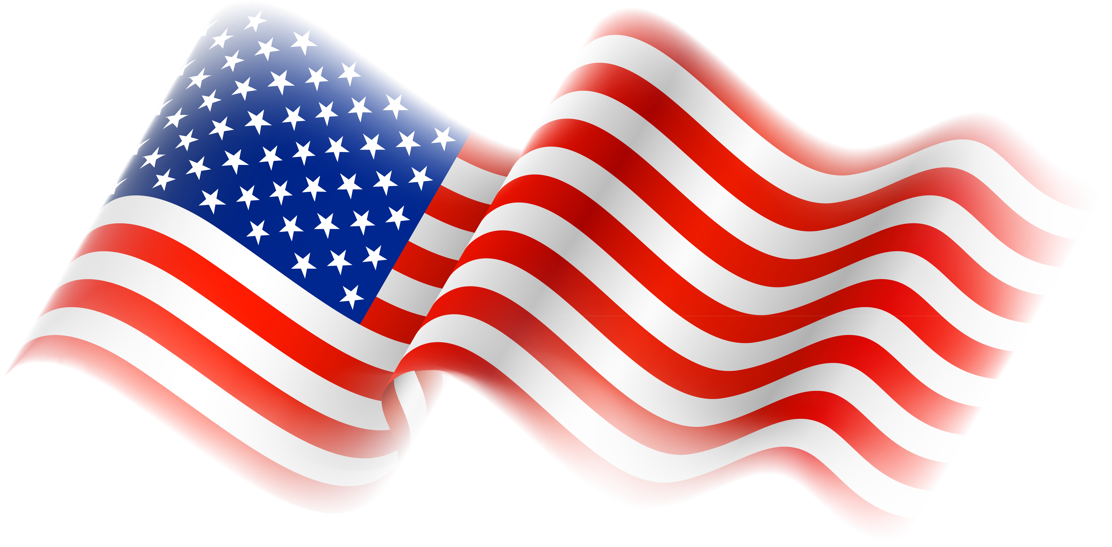American Flag Clipart 6