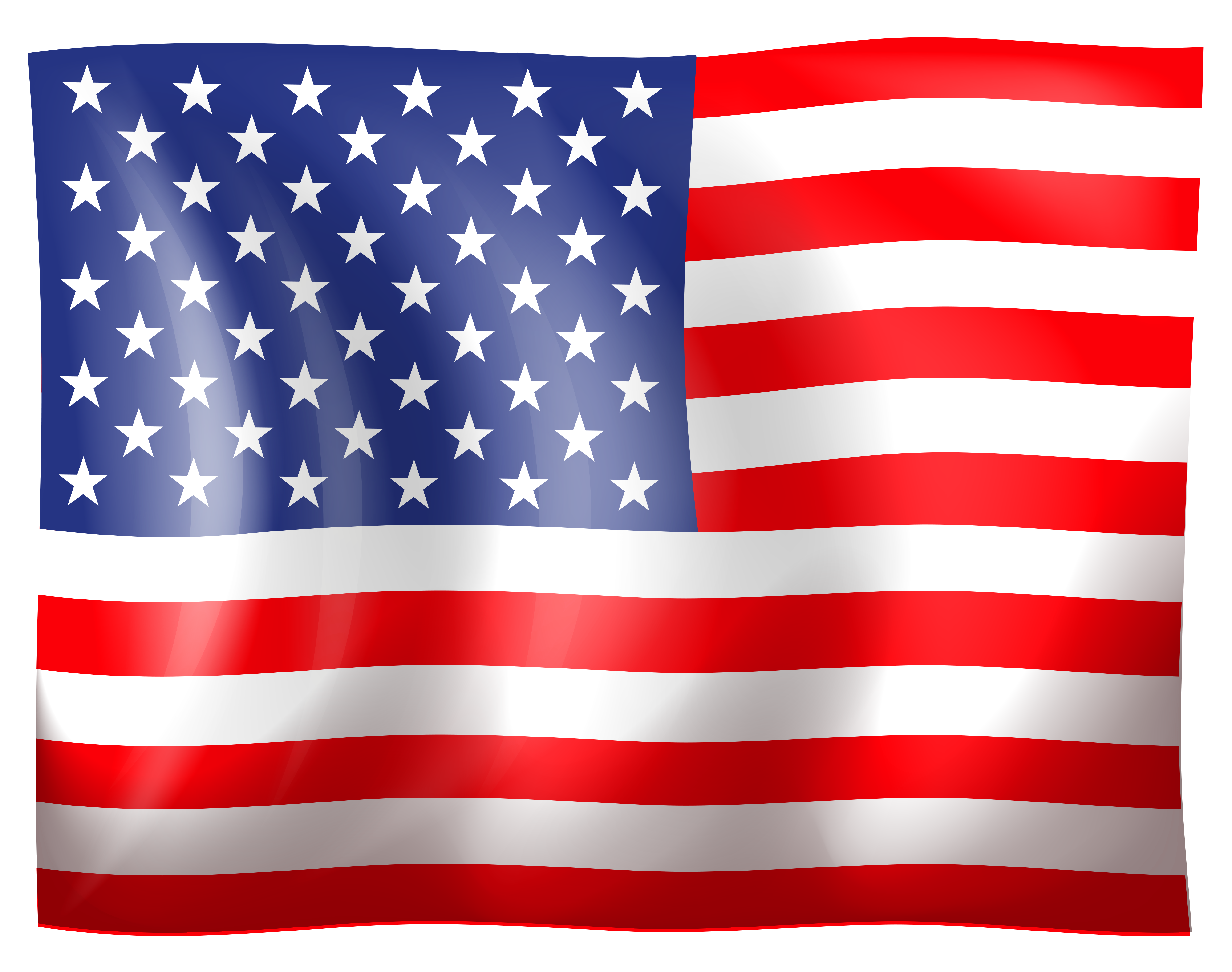American Flag Usa Patriotic Clipart 1 Png