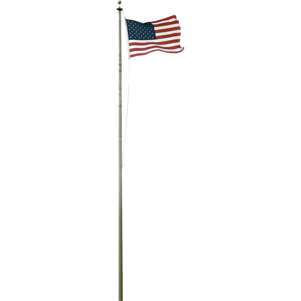 American Us Flag Png 6780