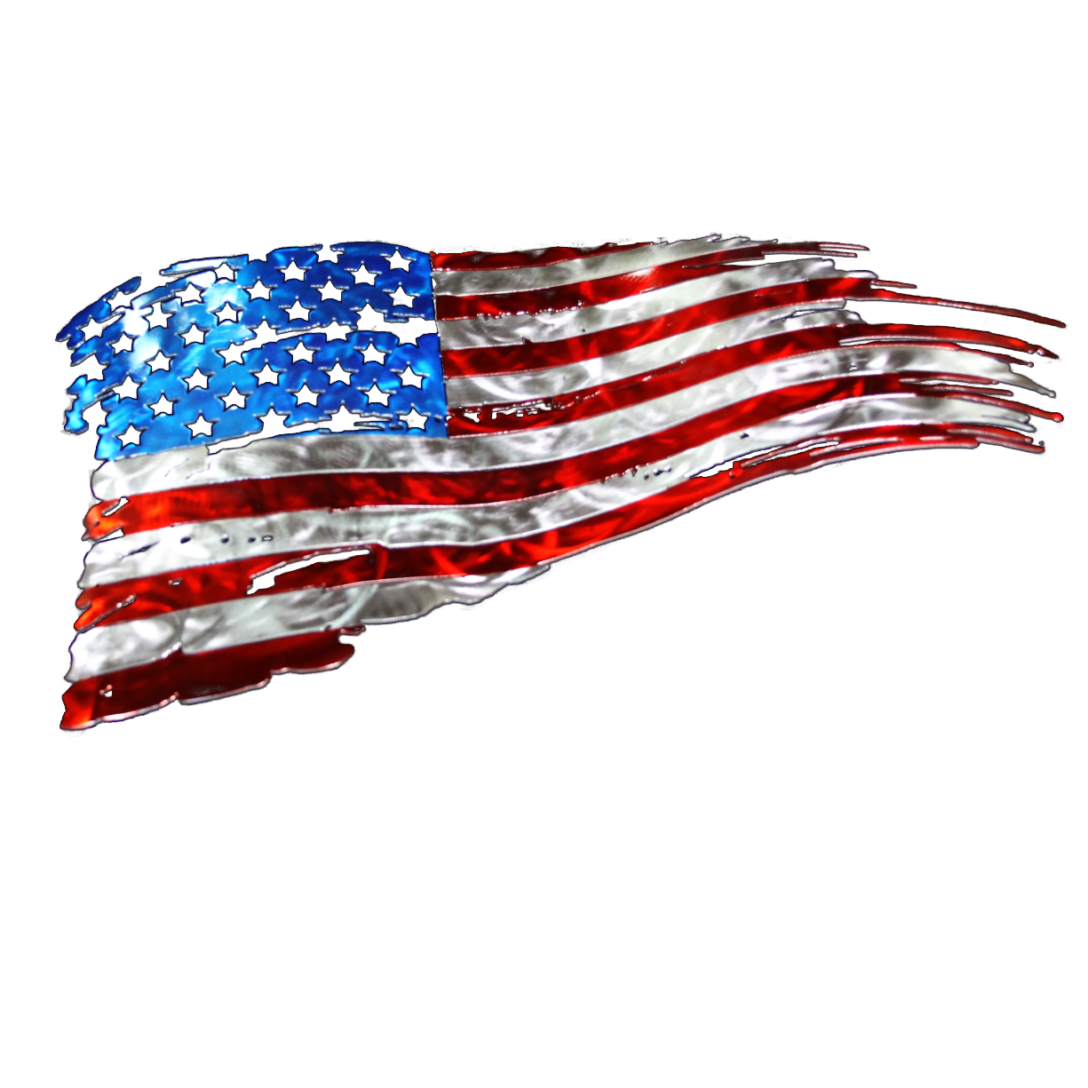 Us Flag Iconic Waving 6756