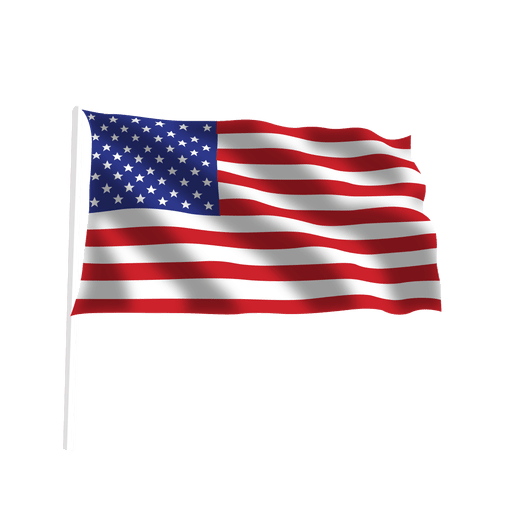 Waving American Flag Transparent Png Svg Vector 6755