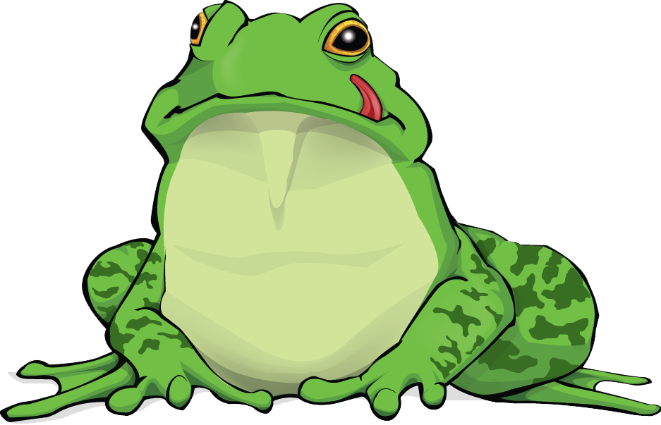 Great Frog Amphibian Green Language Out There HD Clipart 27636