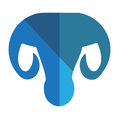 Blue Ram Head Logo Hd 27249