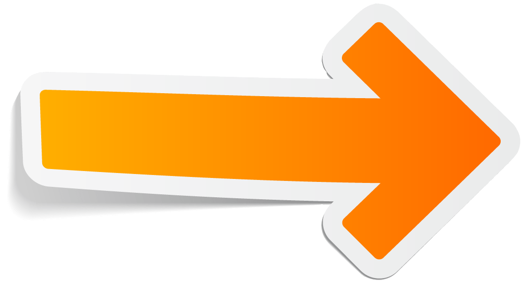 Arrow Orange Right Transparent Png 6432