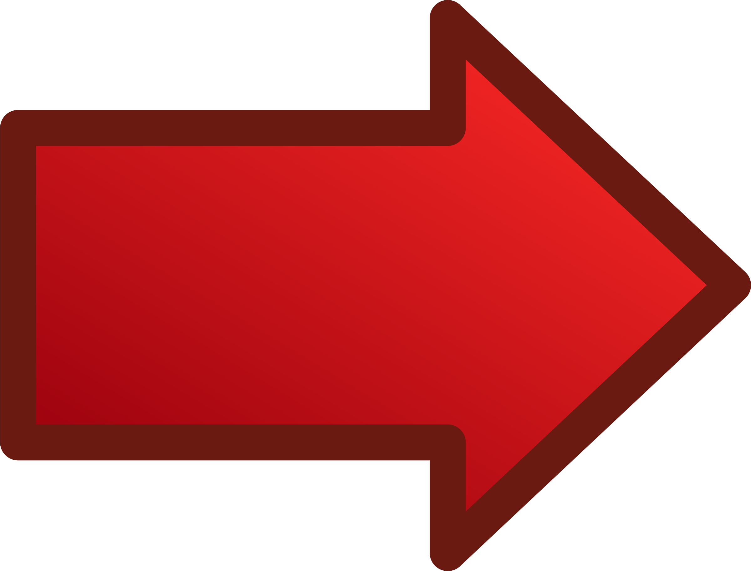 Dark Red Png Arrow 6433