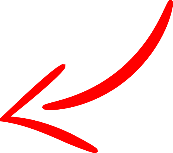 Red Arrow Left Clip Art 6425
