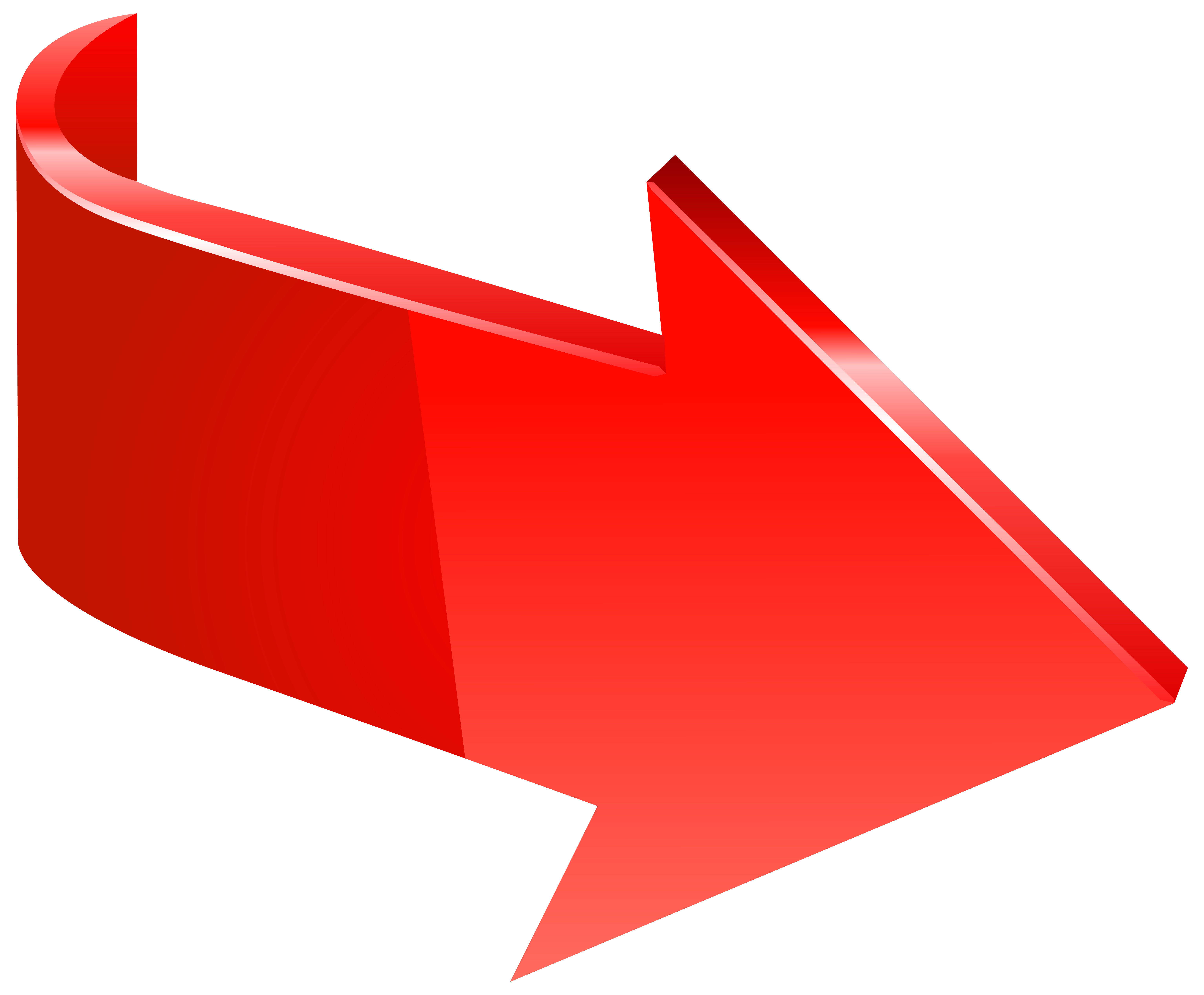 Right Arrow Clipart Png Red Hd 6426