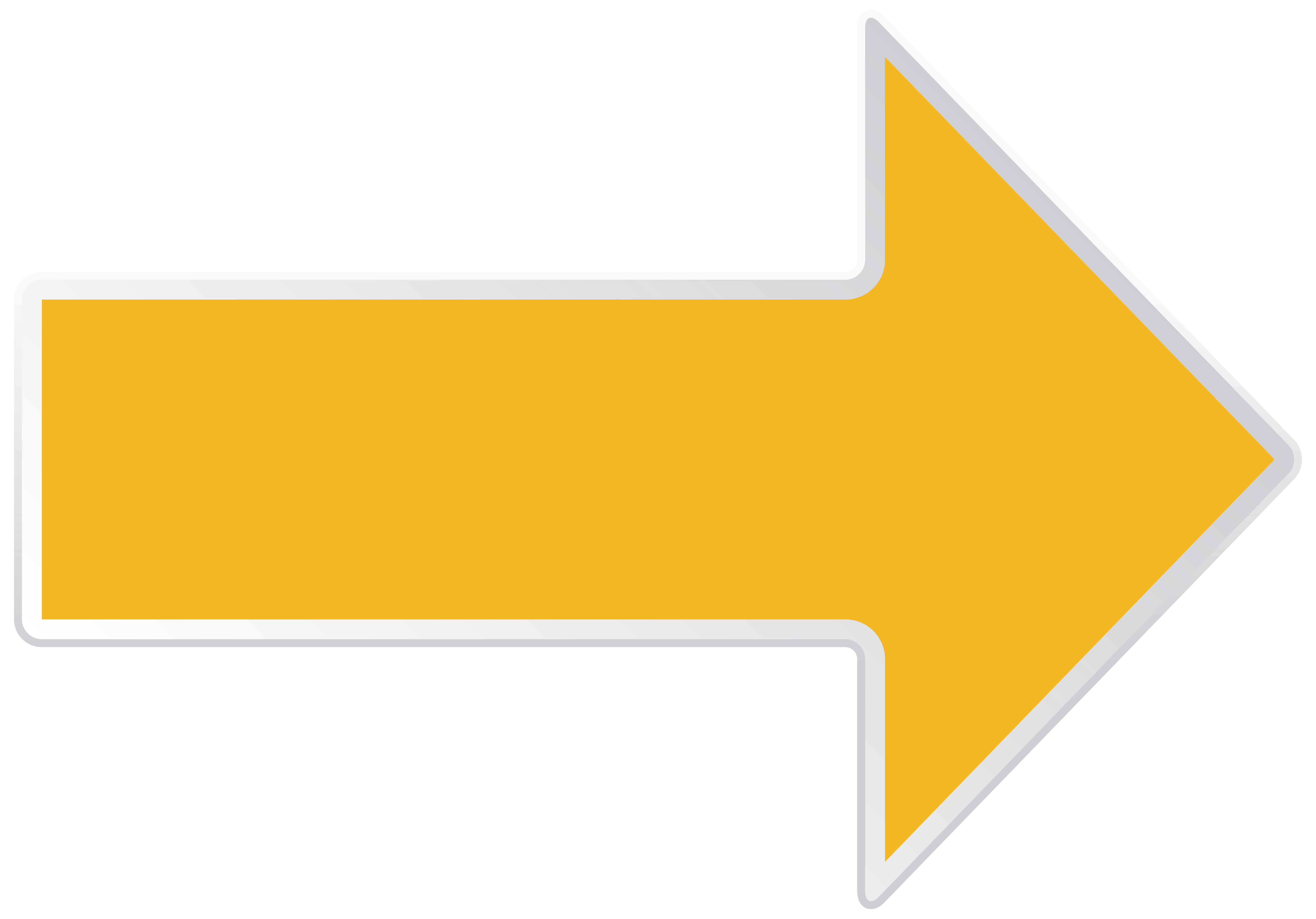 Right Yellow Clipart Arrow Png