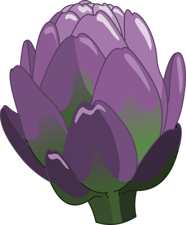 Artichokes Clipart Transparent 23726