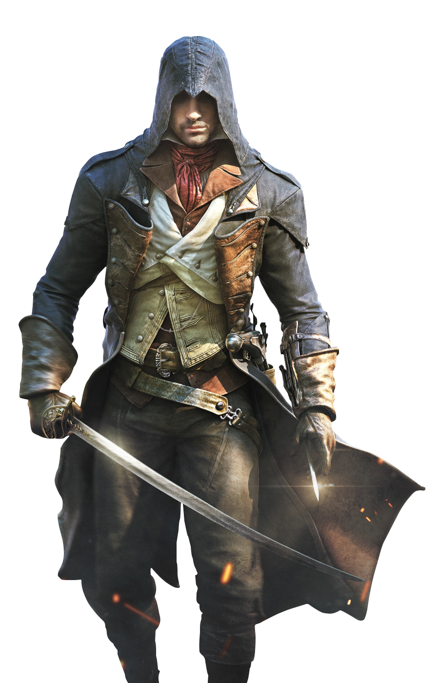 Assassinu Creed Warrior Picture With Sword In Hand Png 27537