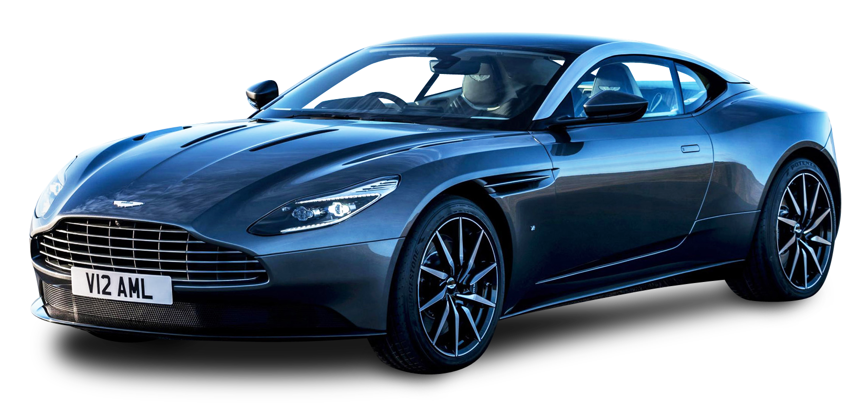 Aston Martin Blue PNG Image, Luxury Sport Car 27470