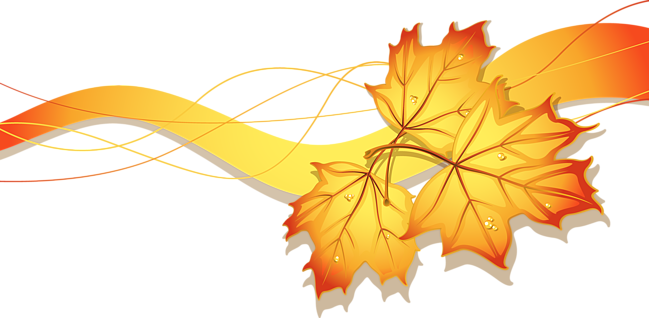 Gold Autumn Png Pic 5884