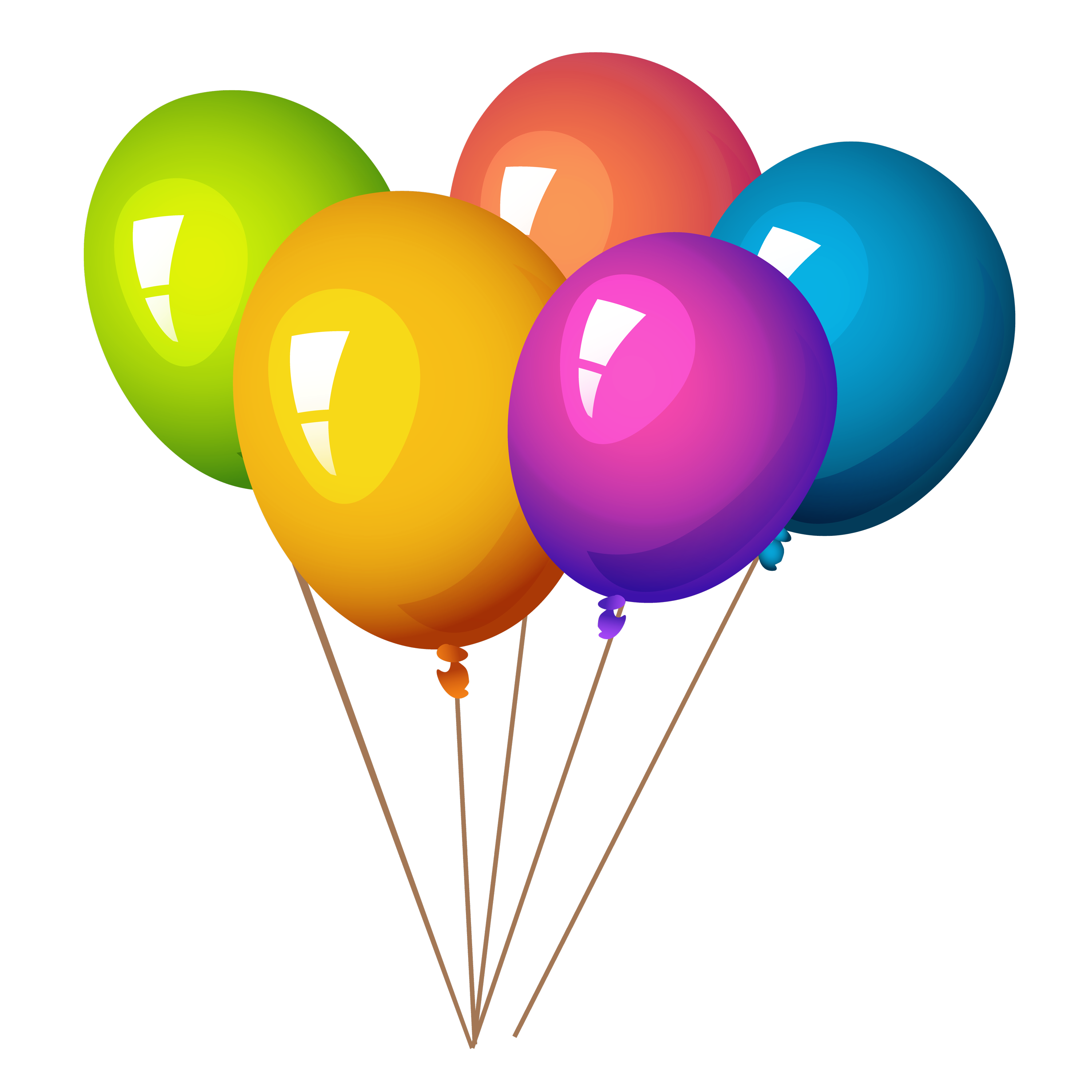 Colorful Balloon Clipart Drawing, Colors, Flying