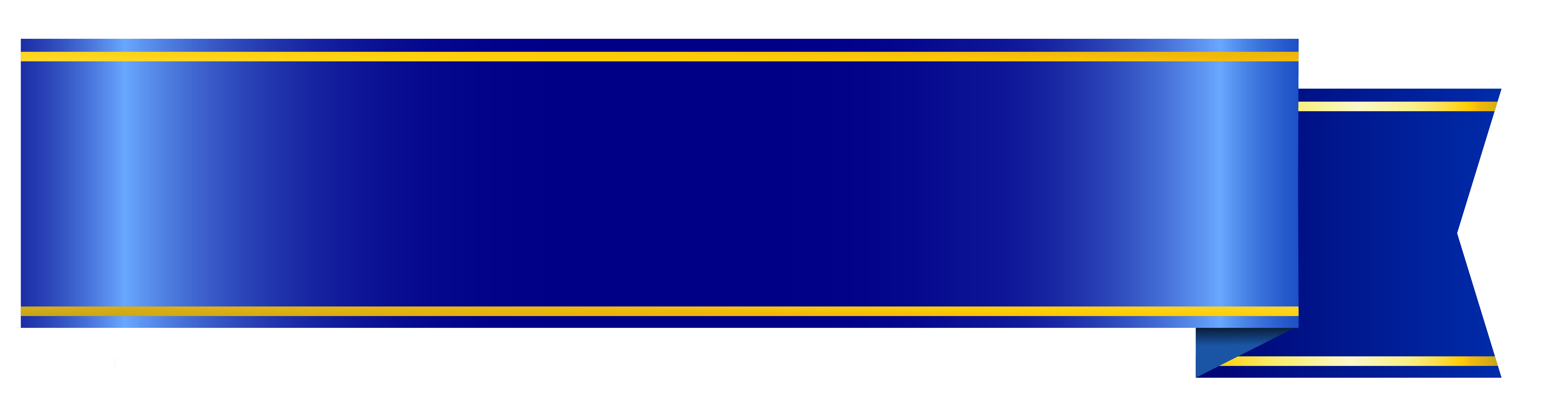 Blue Banner Png Clipart Picture Image