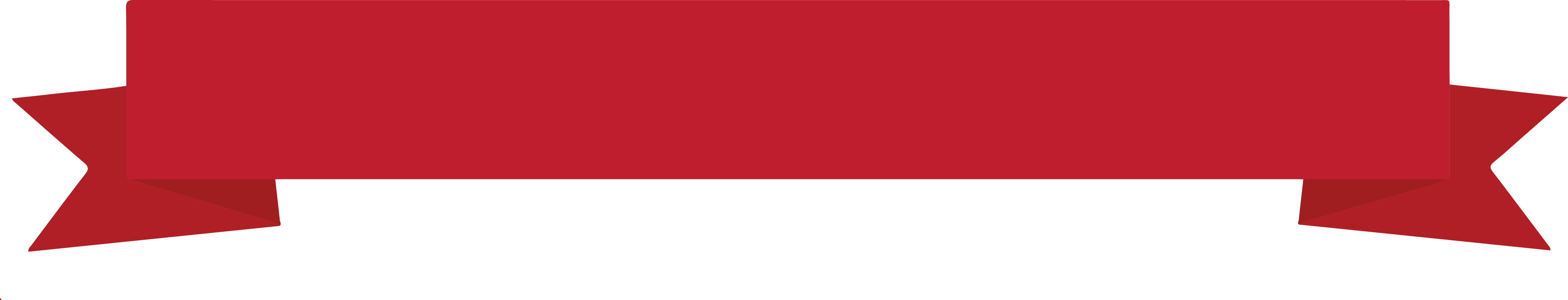 Classic Red Banner Png 6448