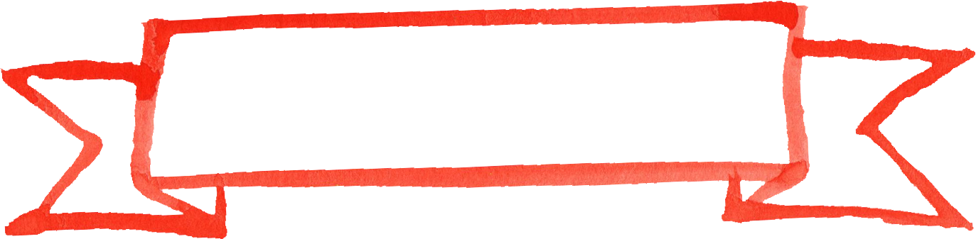Red Line Banner Png 6469