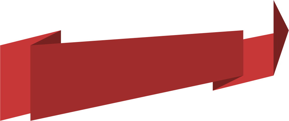 Red Transparent Banner Png 6457
