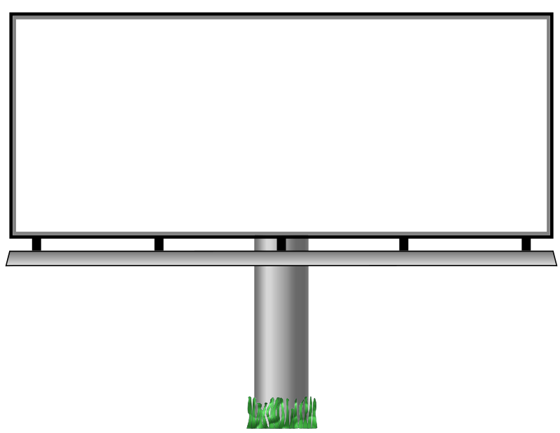Billboard Cut Out Png 9754