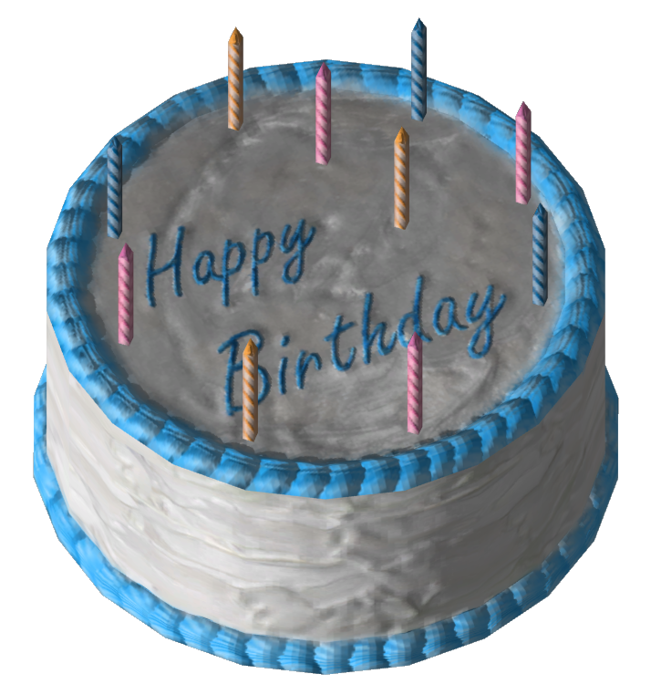 Blue And White Birthday Cake Clipart 5173 Transparentpng