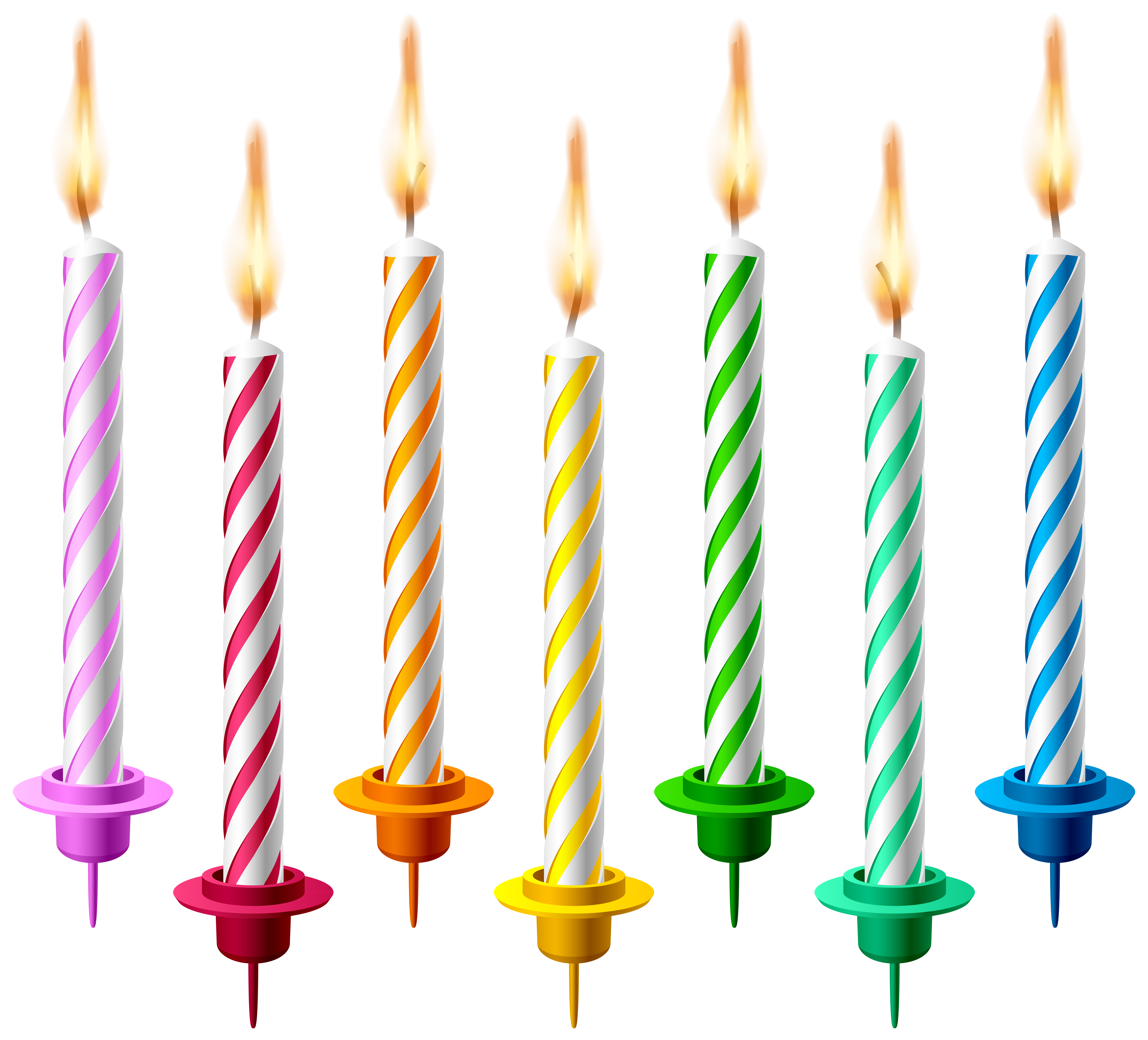 Birthday Candles HD Image PNG Images
