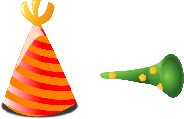 Birthday Hat And Horn Clip Art At Picture 5810