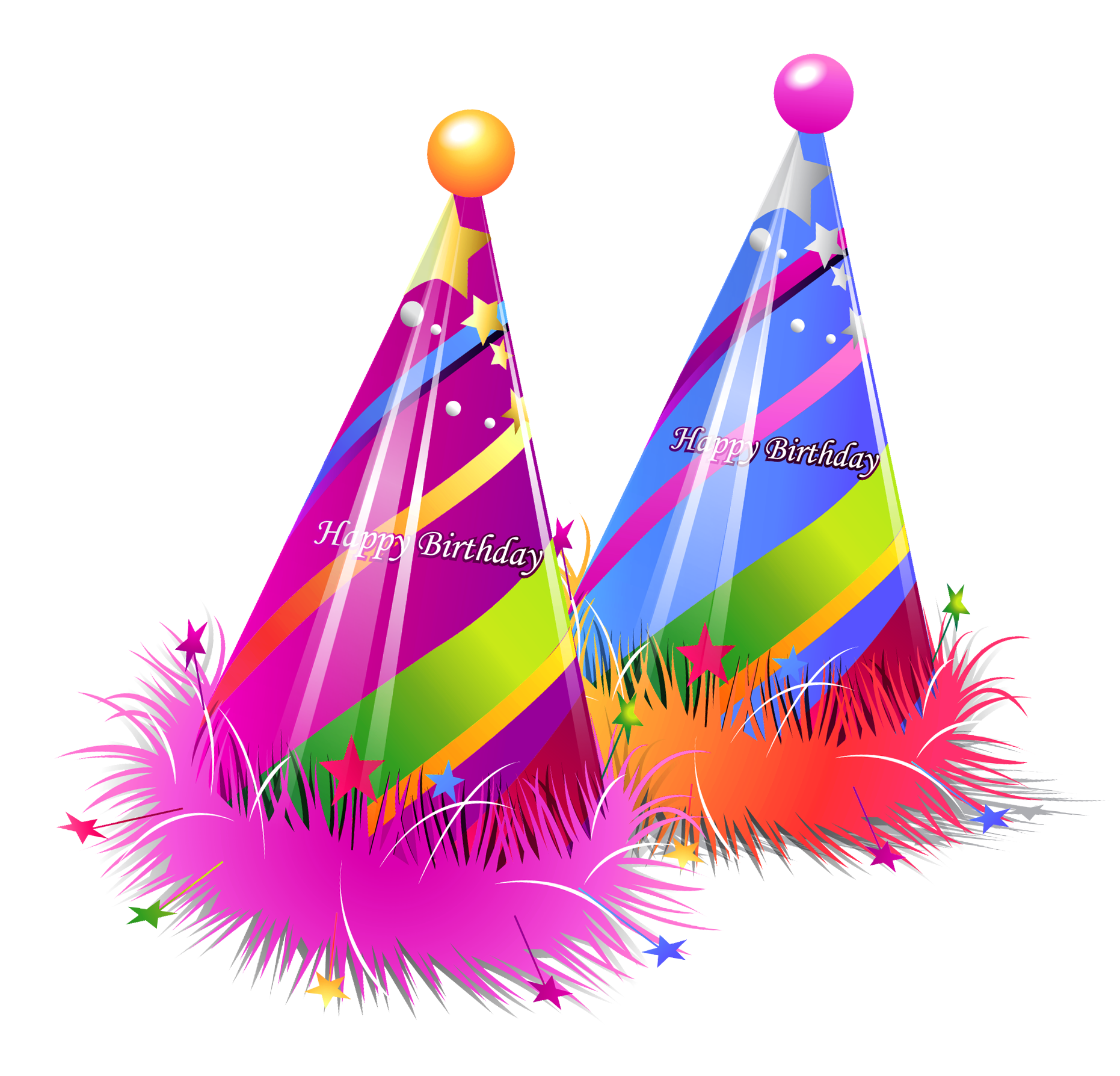 Colorful Birthday Hat Png 5788