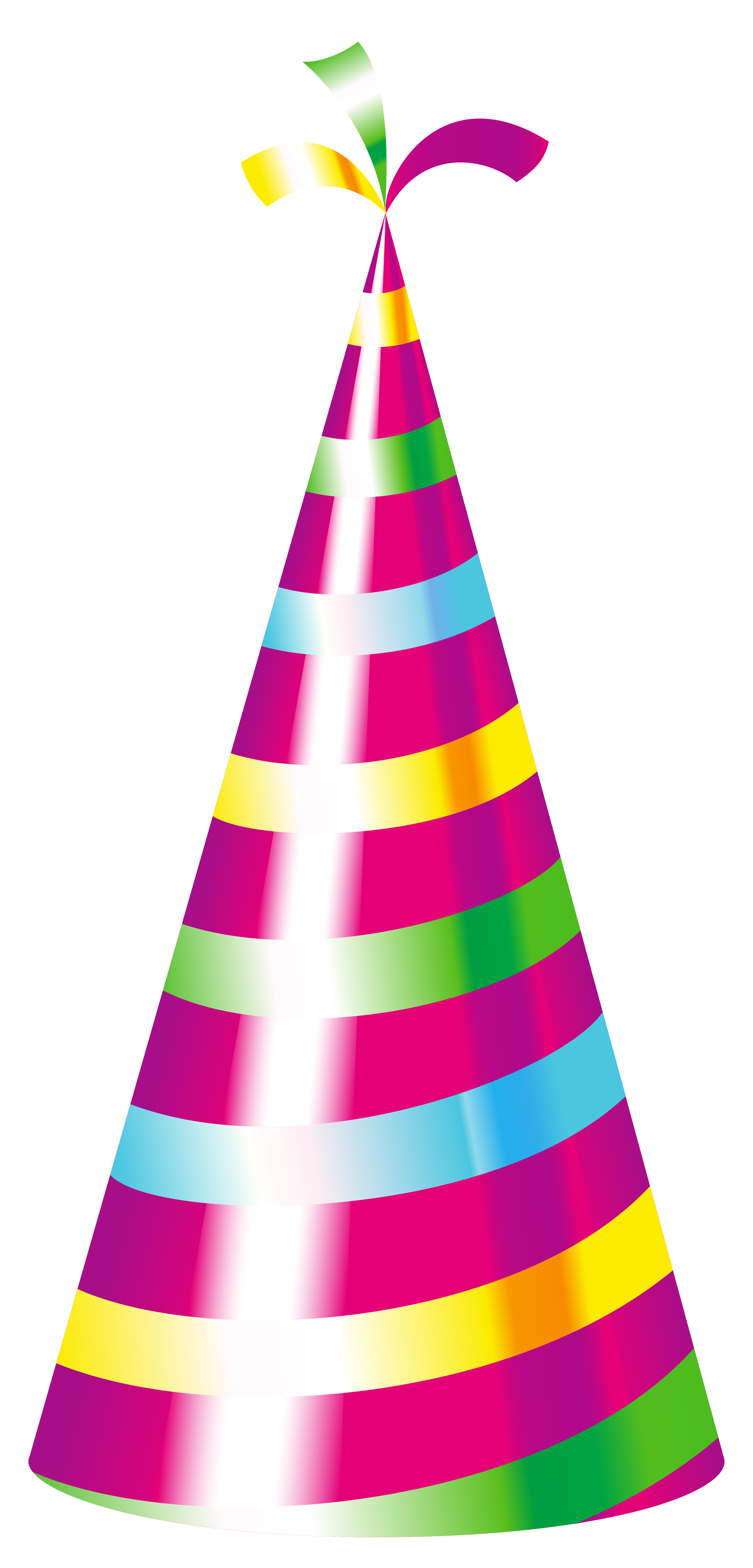 Golden Happy Birthday Hat Png 5813