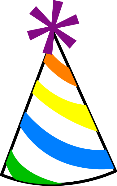 Party Birthday Hat Clipart Image 5801