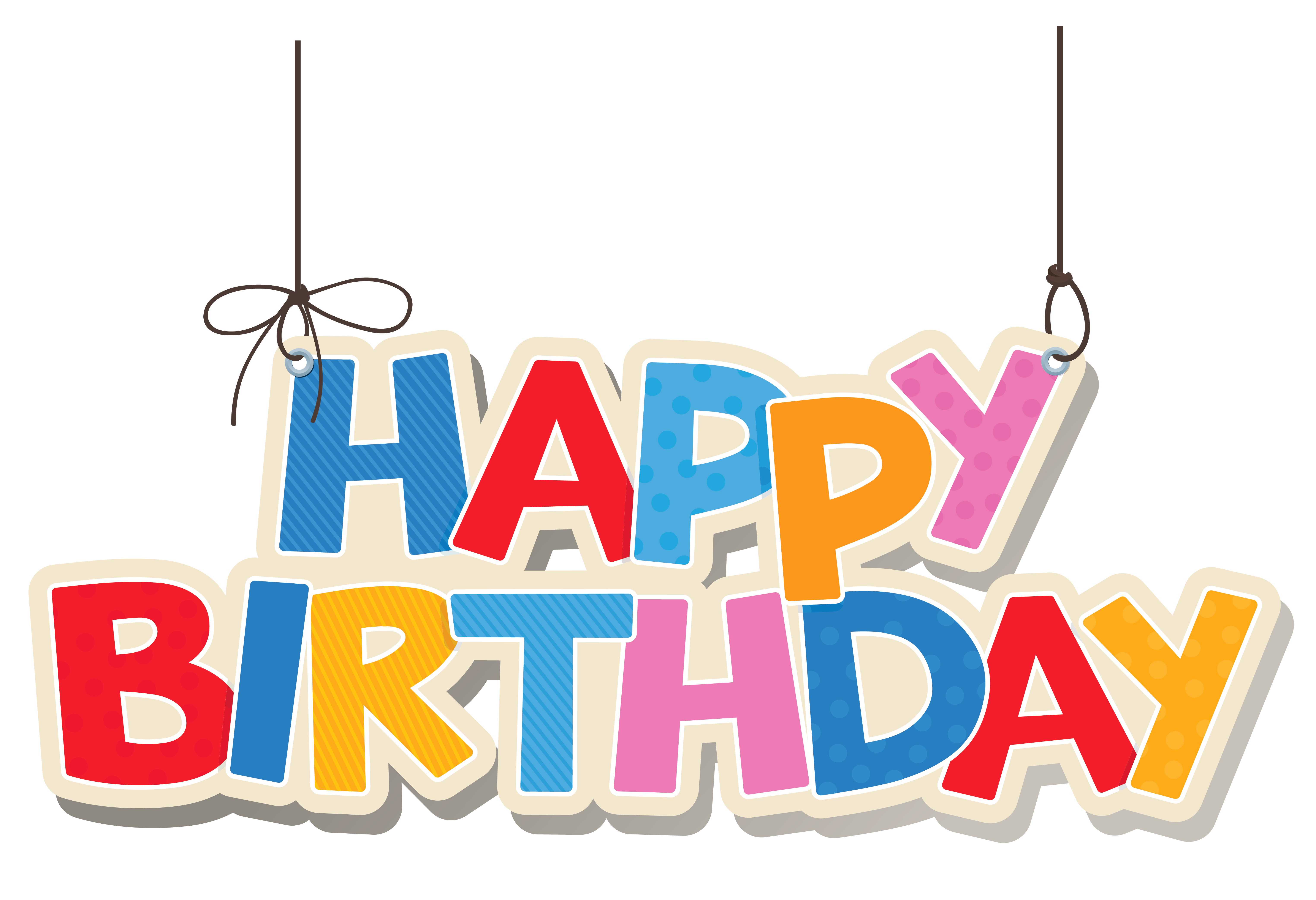 Birthday Celebration Clipart PNG 13232