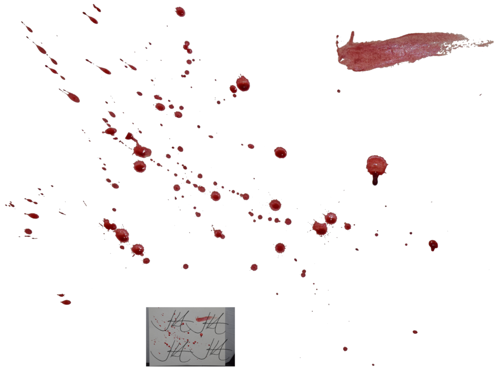 Blood Splatter Clipart Transparent 14075