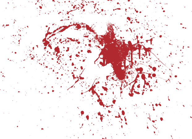 Blood Splatter Background Transparent 14081
