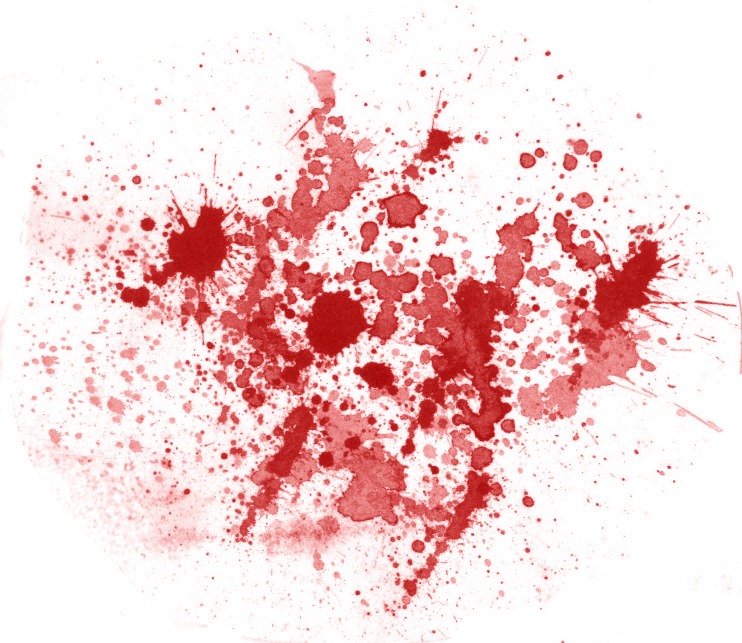 Blood Splatter Vector 14061