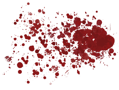 Blood Splatter Transparent Background 14065
