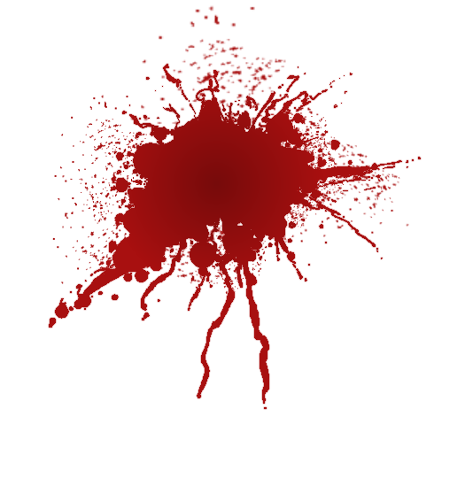 Blood Splatter Icon Clipart 14068