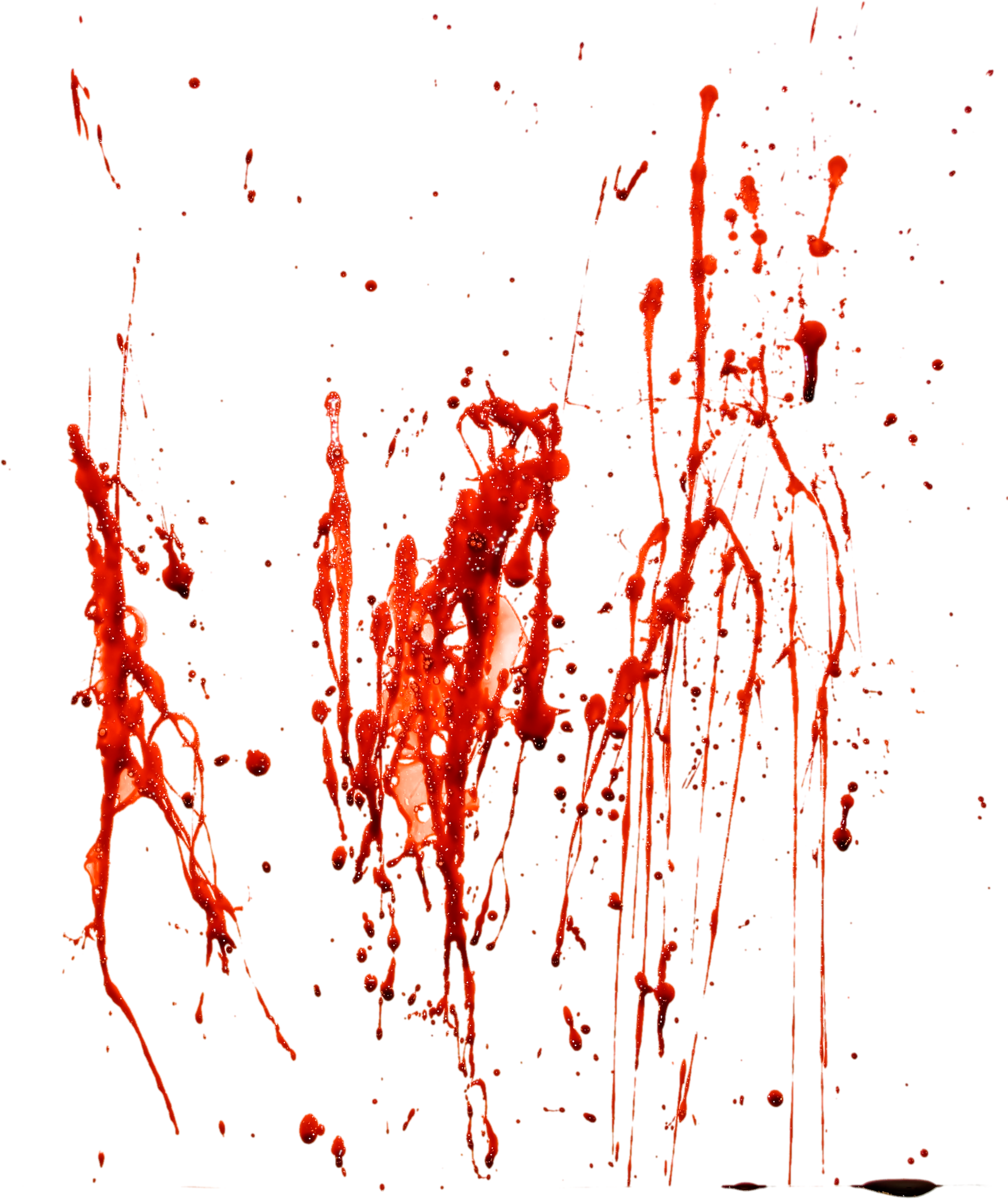 Blood Splash Transparent Picture 22106