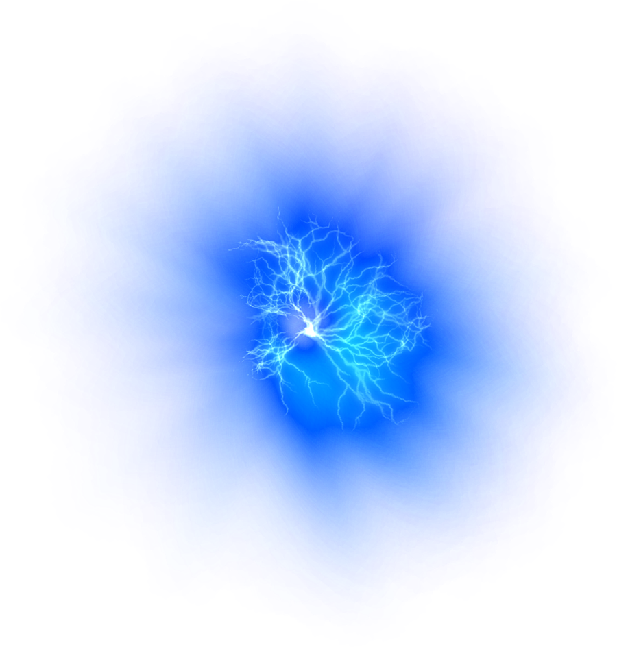 Transparent Image Blue Fire 8983