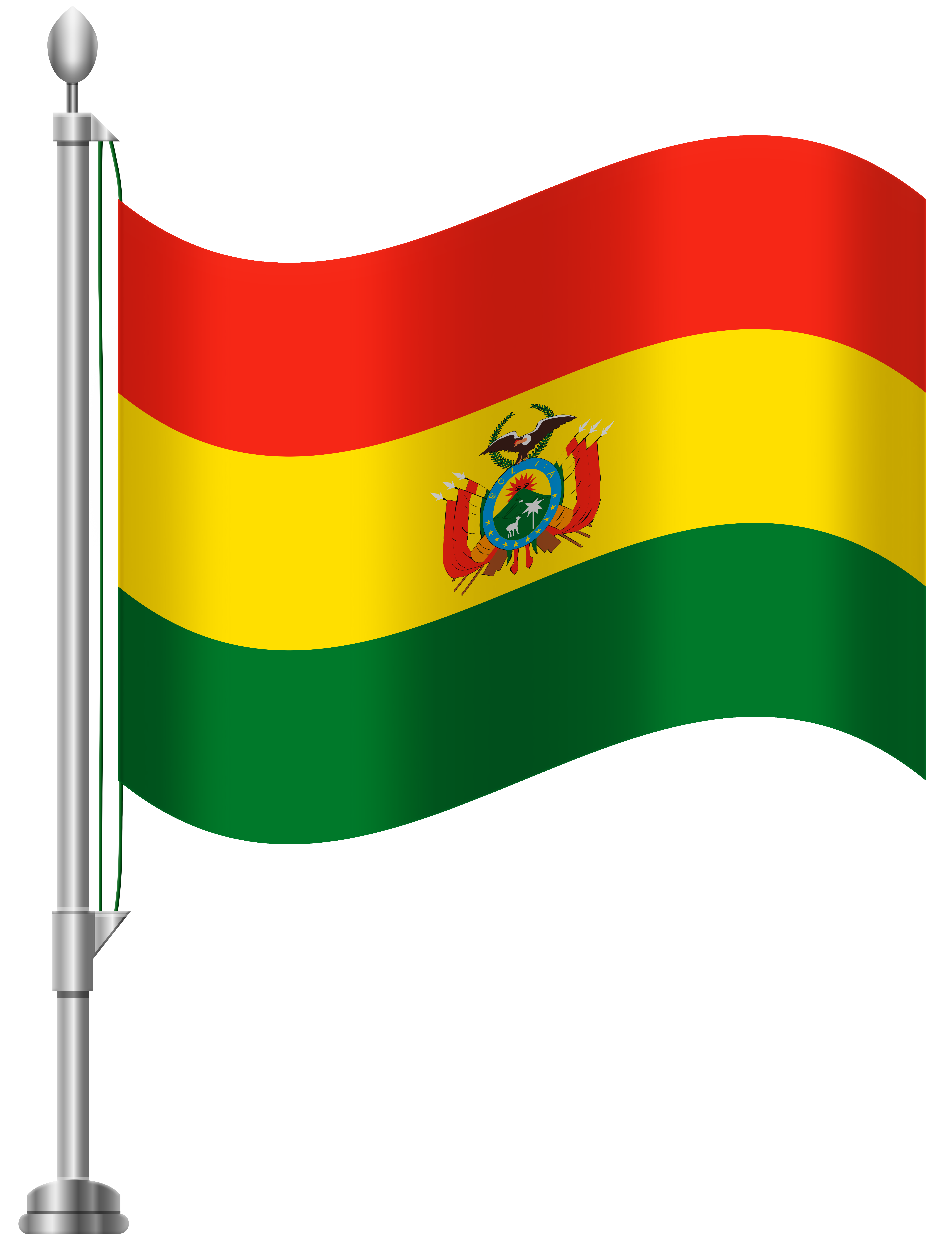 Bolivia Flag Simple PNG Images