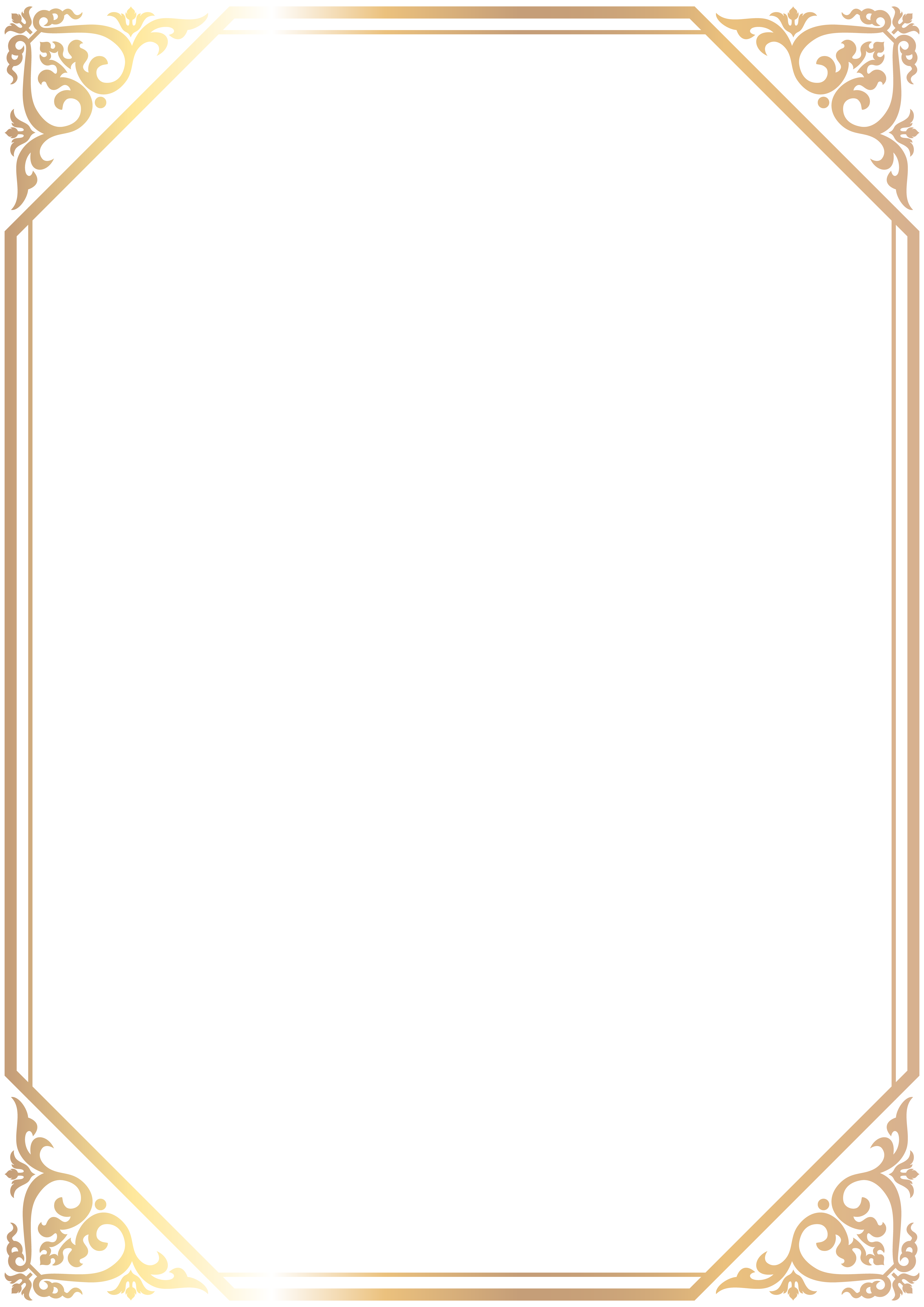 Border Frame High Quality PNG