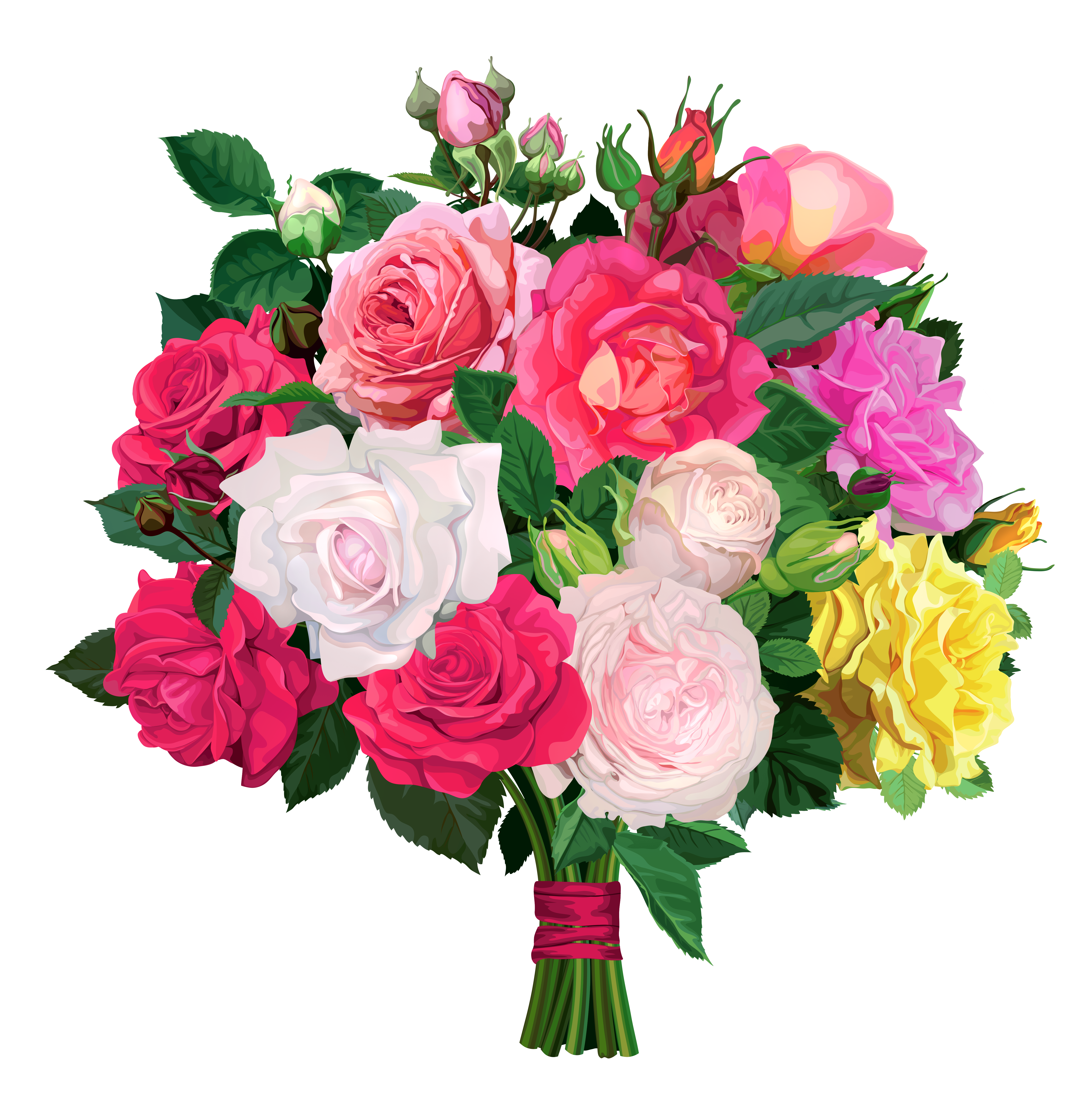 Bouquet Cut Out Png PNG Images