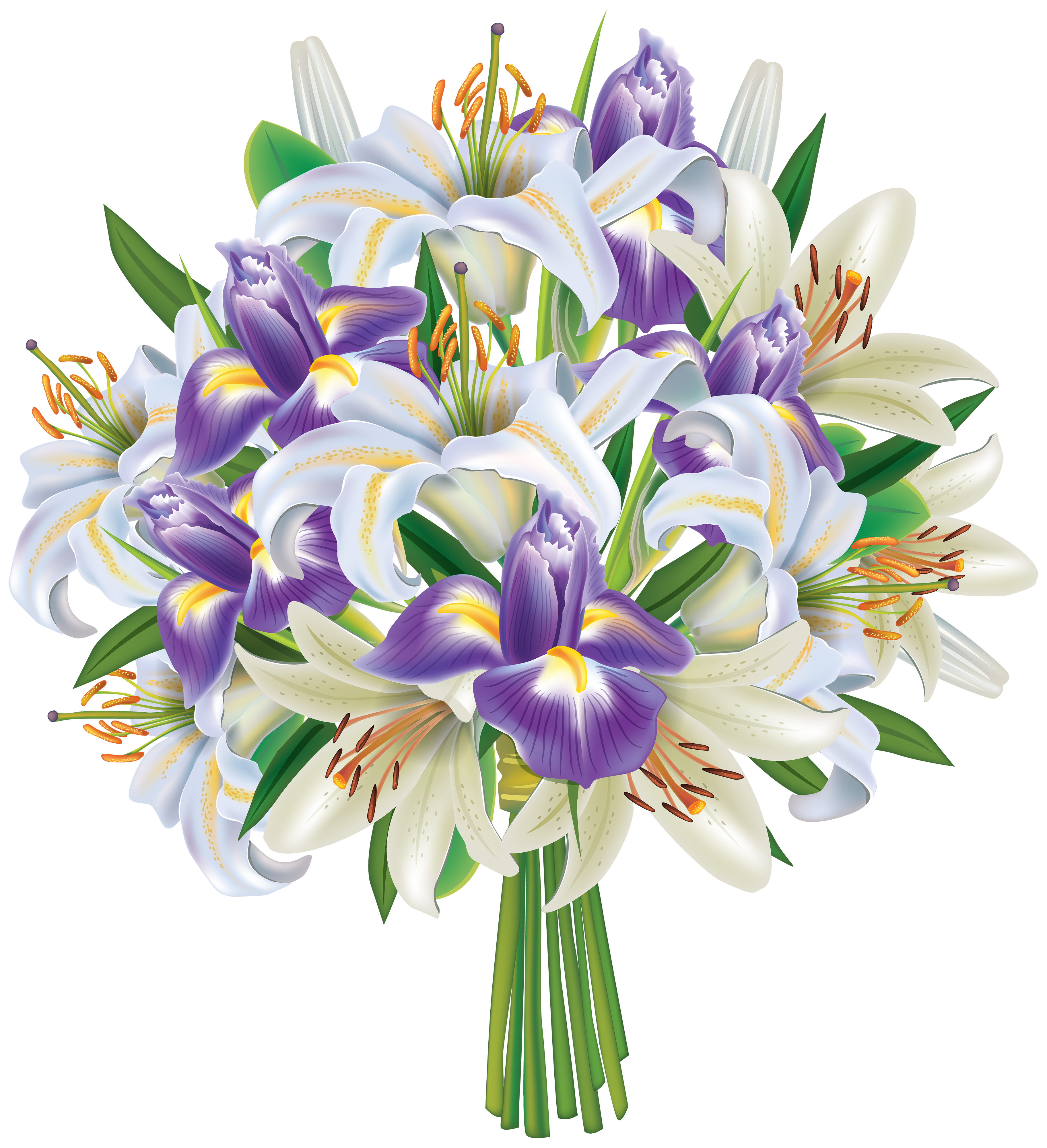 Bouquet Transparent Picture PNG Images