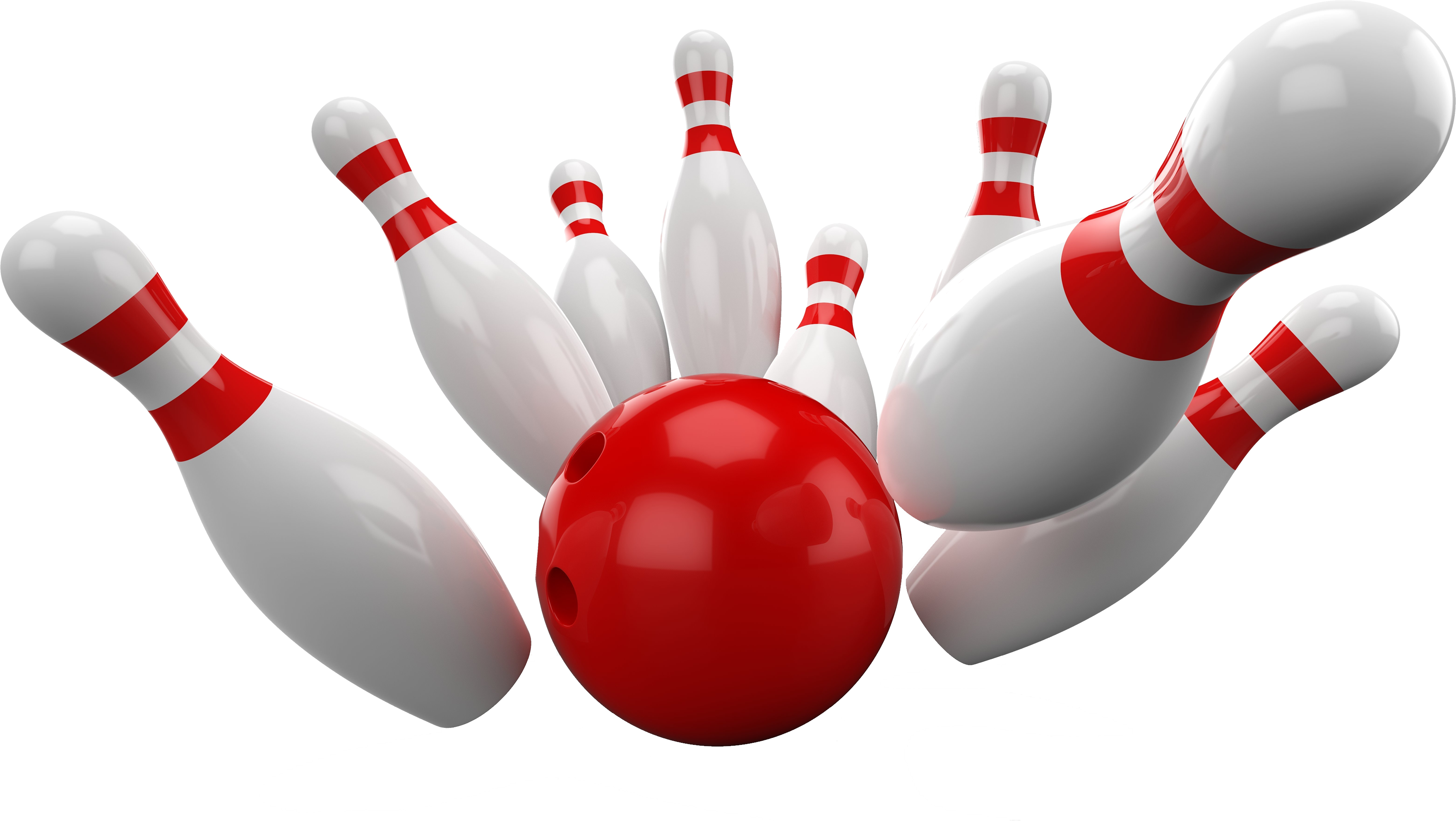 Red Ball, Bowling Clipart HD