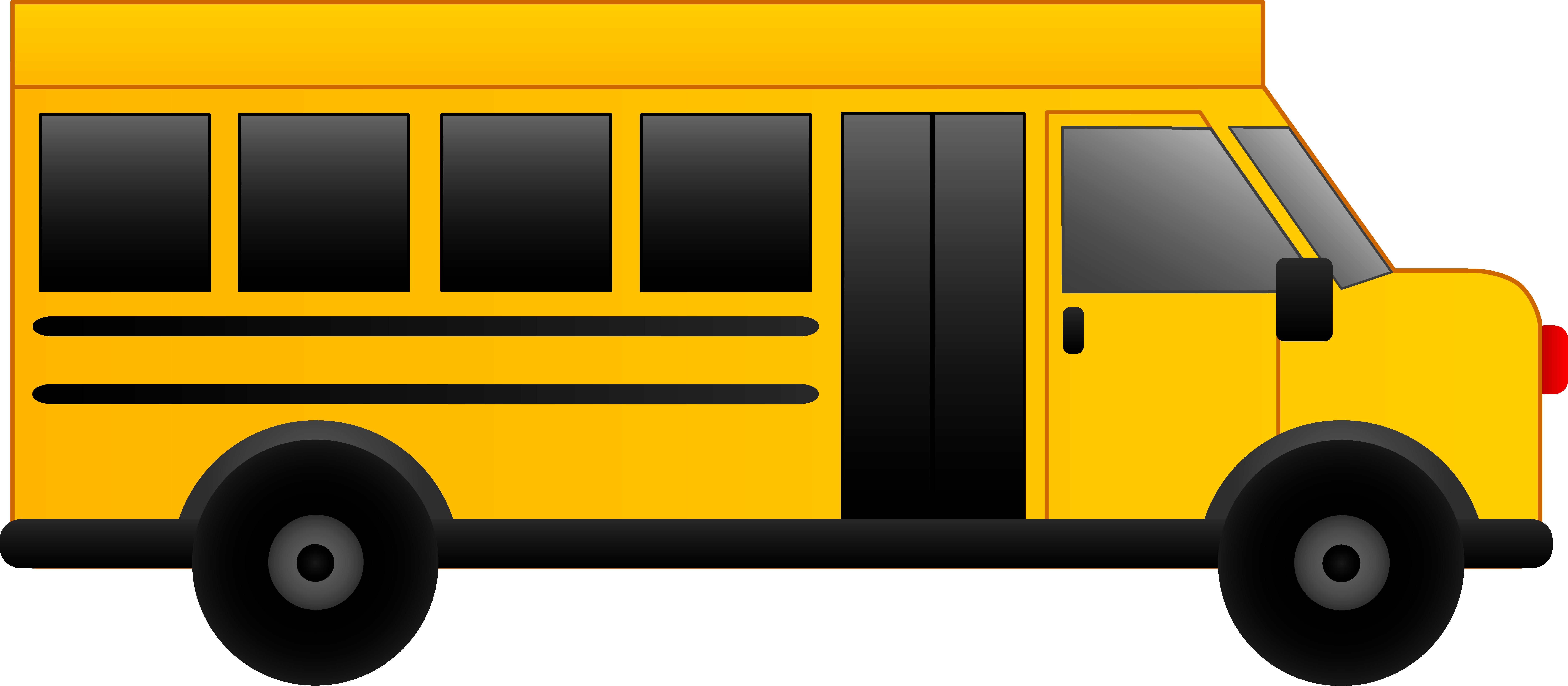 High School Bus Free Download PNG Images