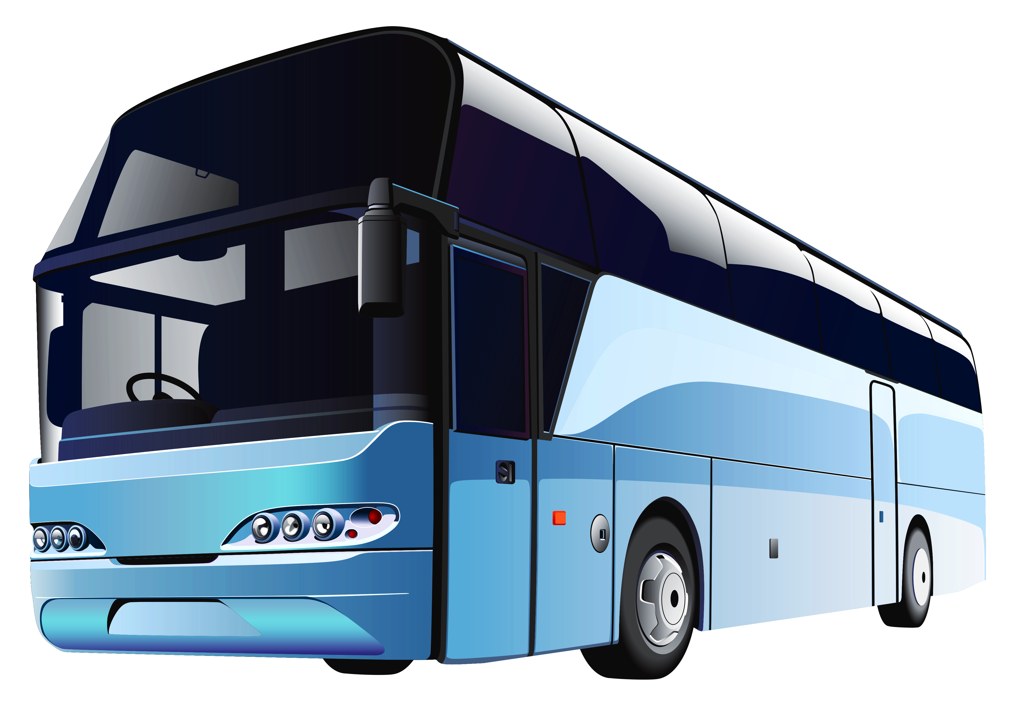 Bus Clipart HD PNG Images